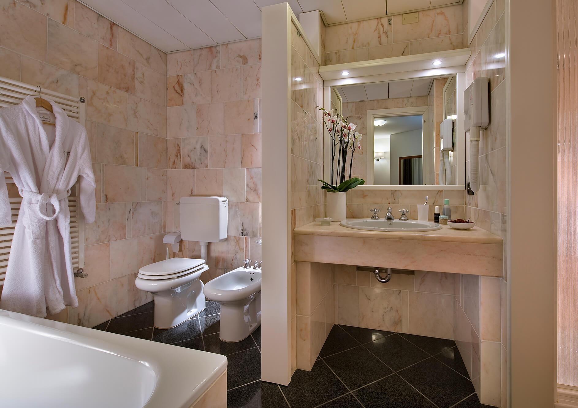 Hotel Abano Terme Lo Zodiaco - Junior Suite Bagno