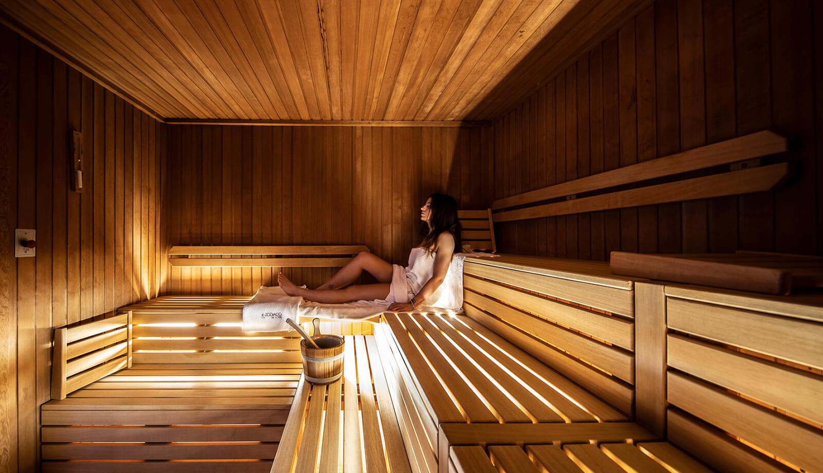 Hotel Abano Terme Lo Zodiaco - Sauna